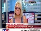 """Télézapping :""""DSK à Paris dans quarante-huit heures, un scénario envisageable"""""""