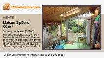 A vendre - maison - Gournay sur Marne (93460) - 3 pièces -