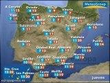 Previsión del tiempo para este jueves 17 de enero