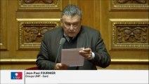 Jean-Paul Fournier, Sénateur du Gard : Candidature de l'aéroport de Nîmes au projet de relocalisation de la base d'avions de la sécurité civile de Marignane