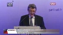Évènements : Les voeux de Jean-Louis Borloo à la presse