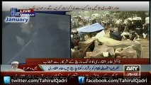 17Jan13 - Address to Long March Dr Tahir-ul-Qadri at D-Chowk Islamabad