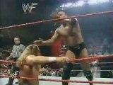 WWF Raw 1998-06-22 - The Rock vs. Triple H (KOTR Quarterfinals Match)
