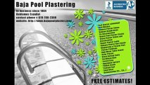 San Diego Pool Repair, Plaster, Refinishing, Resurfacing