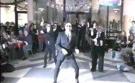 Collège Notre Dame ( Ham ) - Danses des professeurs de Notre Dame lors de la soirée de noël 2012 ( partie 1 )