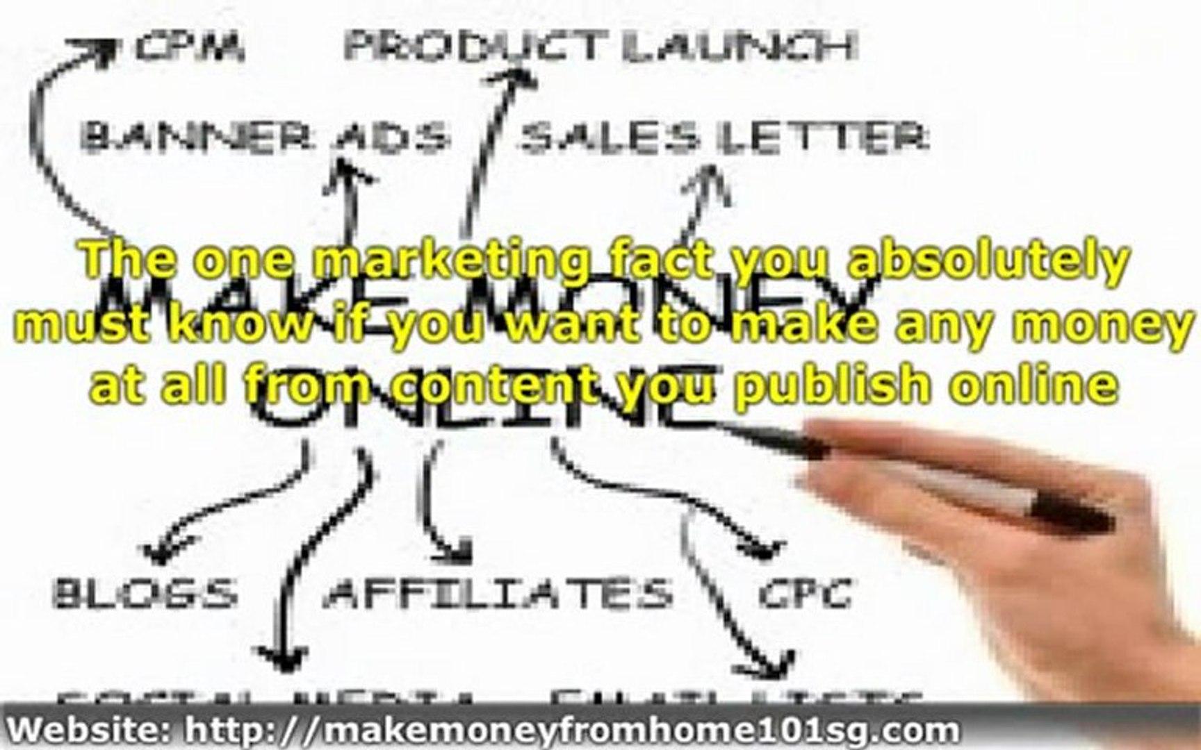 Earn Money Online | Make Money Online - Make Money from Home Singapore