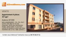 A vendre - appartement - Aubenas (07200) - 4 pièces - 77m²