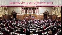 Sénat.Hebdo, semaine du 14 au 18 janvier 2013
