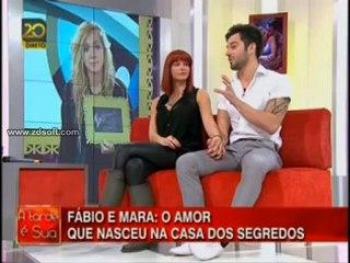 Mara e Fábio - Fátima Lopes A Tarde é Sua 21/01/2013