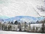 Jour de neige à La Salvetat sur Agout