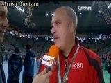 Hand 2013 - les interviews d'avant match Tunisie Vs Argentine