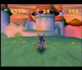 Frapsoluce Spyro 3 : Partie 14 - Crête enchantée