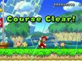 New Super Mario Bros. U Wii U - 1080P HD Walkthrough - 1-1 - Acorn Plains Way