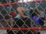 NWA-TNA PPV #75 - Raven, C.M. Punk & Julio Dinero vs. Abyss, Kevin Northcutt & Joe E. Legend (Steel Cage match) (17.12.2003)