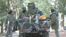 Les troupes françaises et maliennes unies à Niono