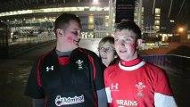 Interview Supporters après Pays de Galles - Samoa