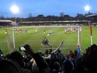 Crawley vs Reading 3rd round FA Cup Le Fondre's Penalty 05/01/13