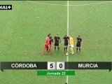 Liga Adelante  Córdoba 5  Murcia 0