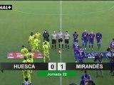 Liga Adelante  Huesca 0  Mirandés  1