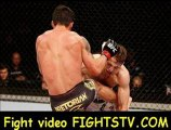 Diego Nunes vs Nik Lentz in their featherweight at the UFC on FX