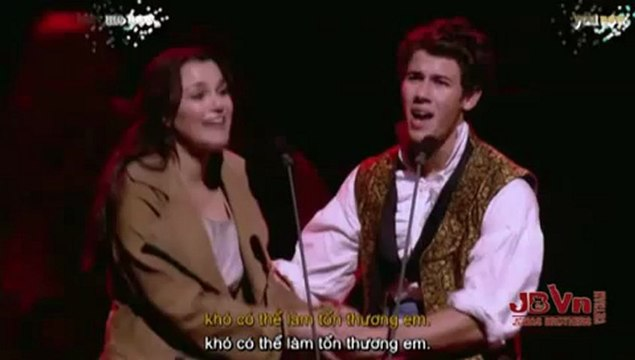 [Vietsub by JBVN] A Little Fall Of Rain - Nick Jonas, Samantha Barks (Les Miserables 25th Anniversary Concert)