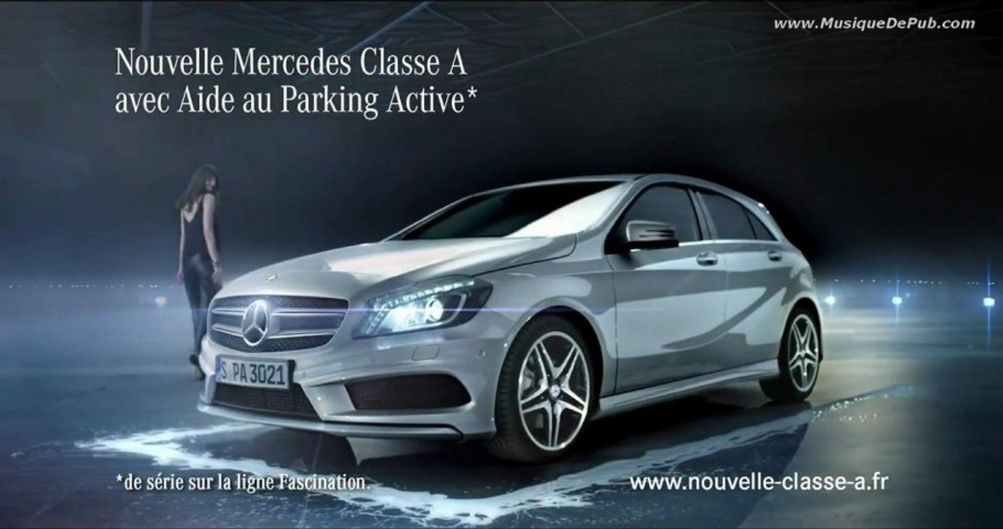 Pub Mercedes Classe A Aide Au Parking Active 2013 Hq