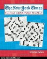 Calendar Review: The New York Times Sunday Crossword Puzzles 2013 Weekly Planner Calendar: Edited by Will Shortz by The New York Times
