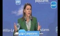 "Cospedal: ""Que Rubalcaba venga a Castilla-La Mancha a dar lecciones es una desfachatez"""