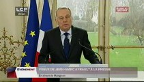 EVENEMENT,Voeux de Jean-Marc Ayrault à la presse