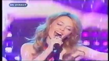 Kylie Minogue -  I believe in you -  live at star academy france  2004