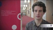 Rencontre avec la jeunesse franco-allemande : Valentin #Elysee50