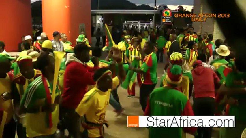 Orange AFCON 2013: StarAfrica.com diary D3