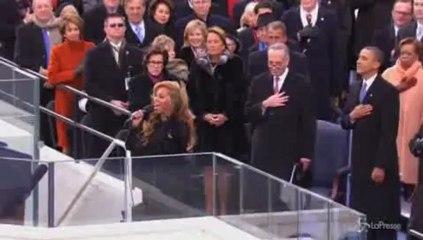 Beyoncé sceglie Emilio Pucci per abito giuramento Obama