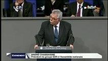 Discours d'André Chassaigne au Bundestag - 50ème anniversaire du traité de l'Elysée