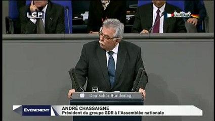 Discours d'André Chassaigne au Bundestag