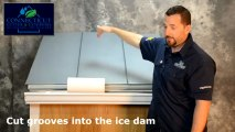 Gutters CT: What To Do About Ice Damming - Gutters & Roof