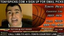 Miami Heat versus Toronto Raptors Pick Prediction NBA Pro Basketball Odds Preview 1-23-2013