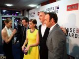 Actor Kevin Spacey speaks & parties at the House of Cards series premiere in London