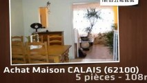 A vendre - maison - CALAIS (62100) - 5 pièces - 108m²