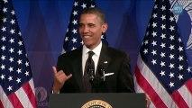 "Barack Obama chante ""SexyBack"" de Justin Timberlake"