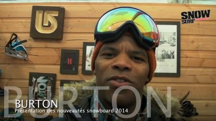 Burton Snowboard : nouveautés snowboards 2013/2014