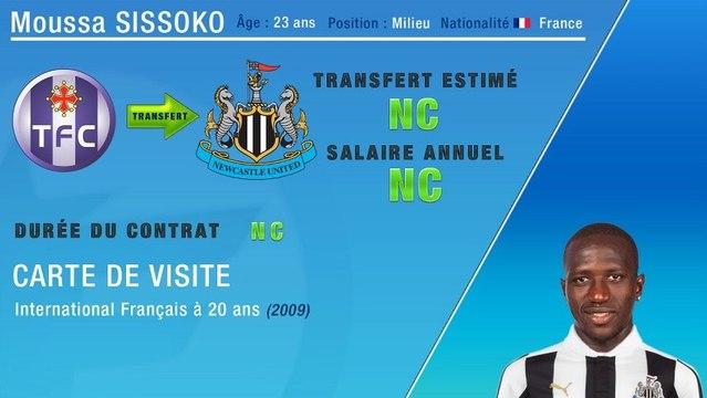 Officiel : Moussa Sissoko s'engage avec Newcastle !