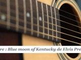 Cours guitare : jouer Blue moon of Kentucky d'Elvis Presley à la guitare - HD