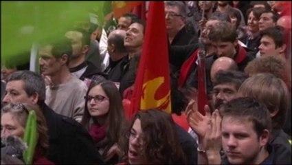 Meeting du Front de Gauche à METZ - Discours de Christian PICQUET