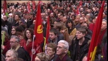 Meeting du Front de Gauche à METZ - Discours de Pierre LAURENT