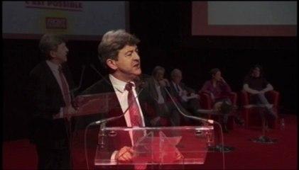 Discours de Jean-Luc Mélenchon - Meeting du Front de Gauche à METZ