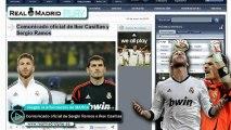 Comunicado oficial de Sergio Ramos e Iker Casillas