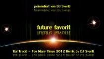 Kai Tracid - Too Many Times 2012 Remix by DJ SvenB