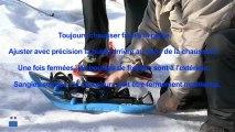 Sécurité en montagne - Épisode n°3 : Chausser correctement ses raquettes à neige.