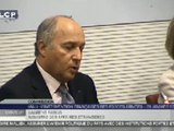 Travaux en commission : Audition de Laurent Fabius, ministre des affaires étrangères